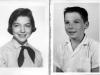 Carol, 13, & Bobby, 9, in 1954-55