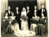 Daddy's & Mother's Wedding, Sept. 8, 1939