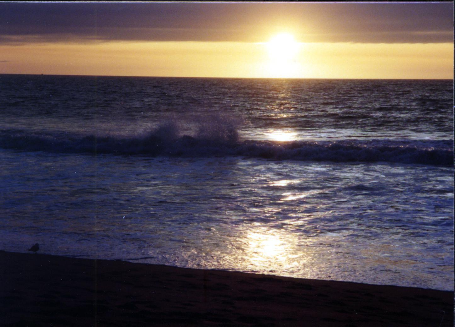 sunset-splash