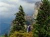 Bridalveil Snowstorm - Yosemite National Park, Calif.