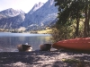 Silver Lake Canoes - Mammoth Lakes, Calif.