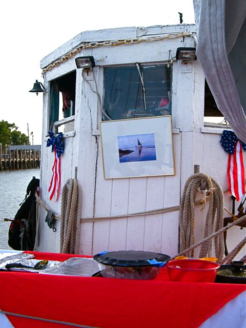 Holiday Decorated Wheelhouse