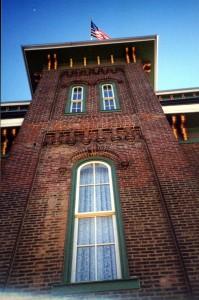Restored 19th century opera house. Frederick Douglass spoke here.