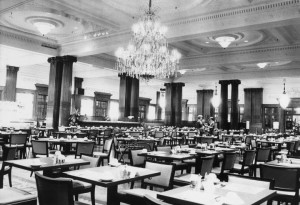 Wanamaker's Grand Crystal Tea Room
