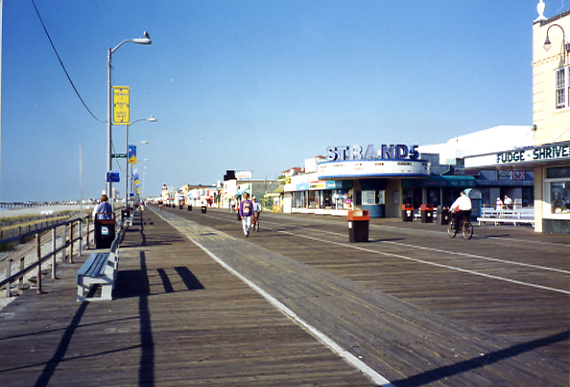 Ocean City Boardwalk, 1990s