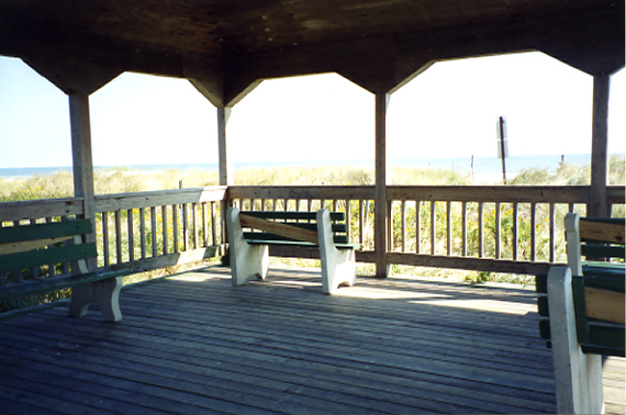 Avalon Pavilion & Benches