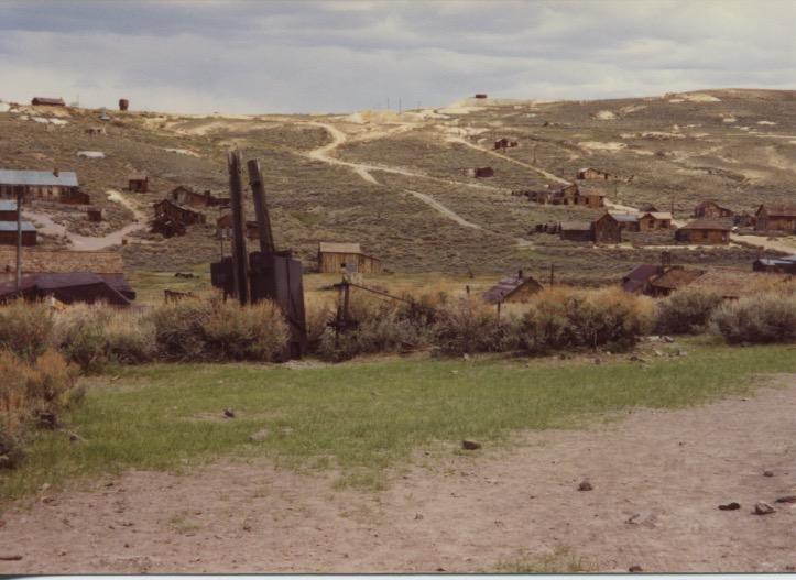 Bodie Mine & Street Scene 1