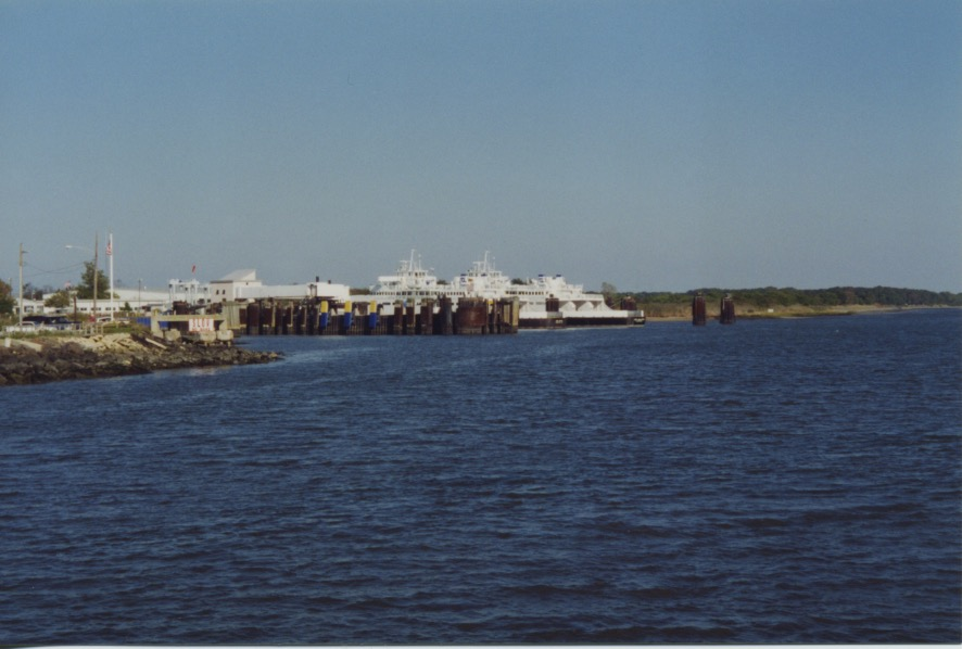 Coming into Cape May 1