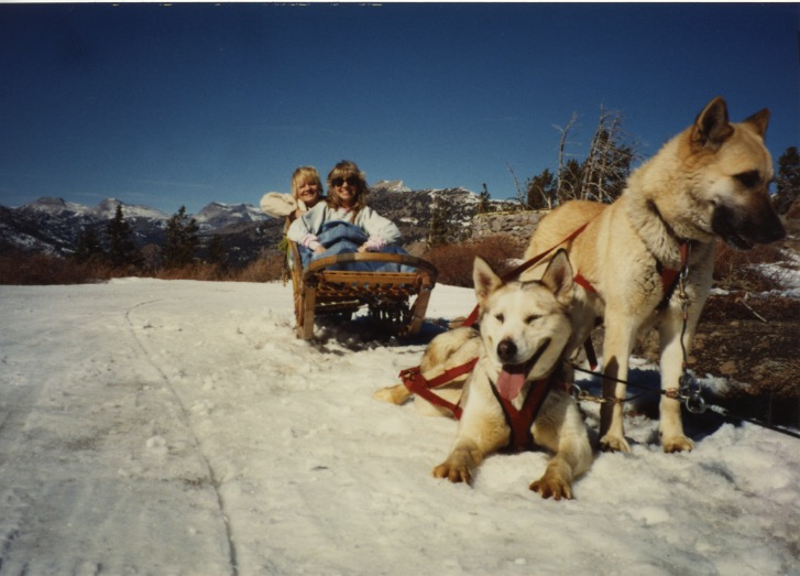 Dog Sled & Mt Whitney 1