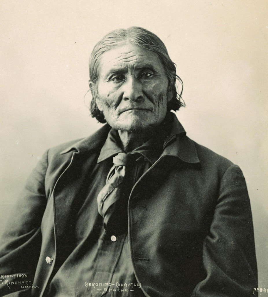 Geronimo. Photo by Frank A. Rinehart, 1898.