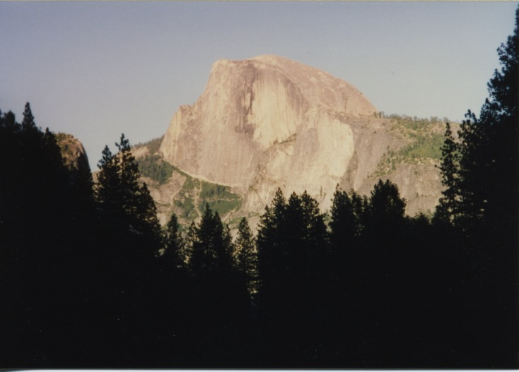 Half Dome Alpinglow & Royal Arches 1
