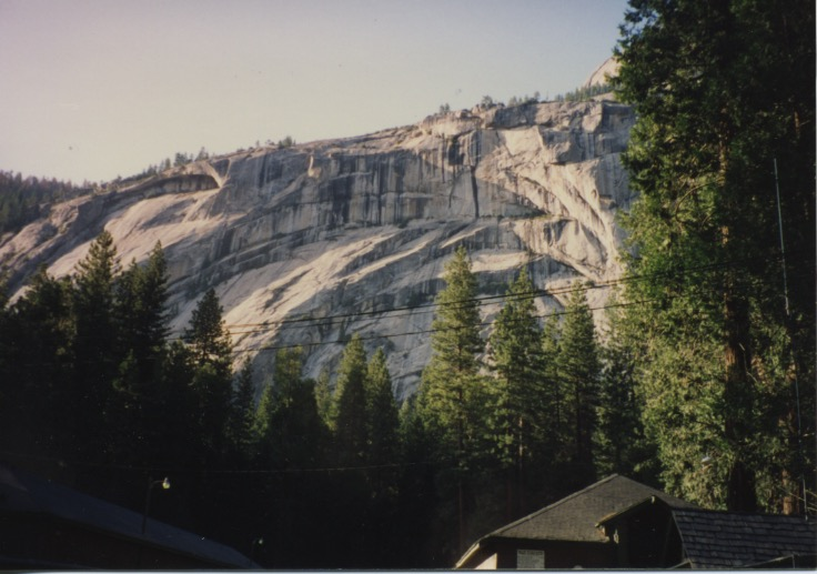 Half Dome Alpinglow & Royal Arches