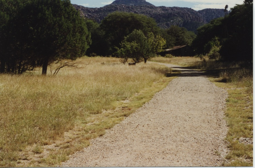 Road Into Faraway Ranch