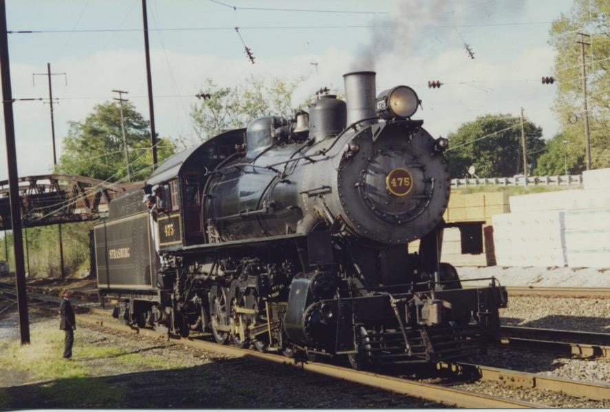 Strasburg RR loco 1